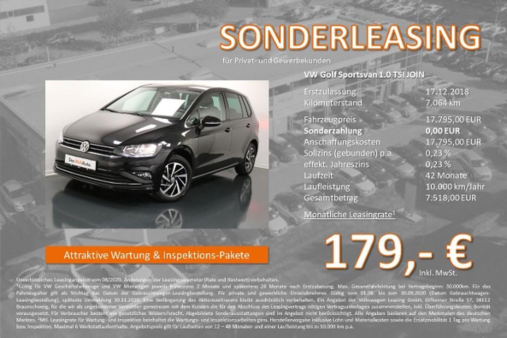 Volkswagen Golf Sportsvan 1.0 TSI JOIN WirelessRSE
