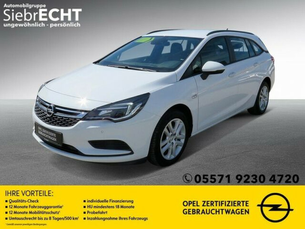 Opel Astra 1.6 K ST D Edition S S