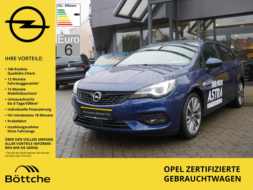 Opel Astra 1.4 ST Turbo Ultimate