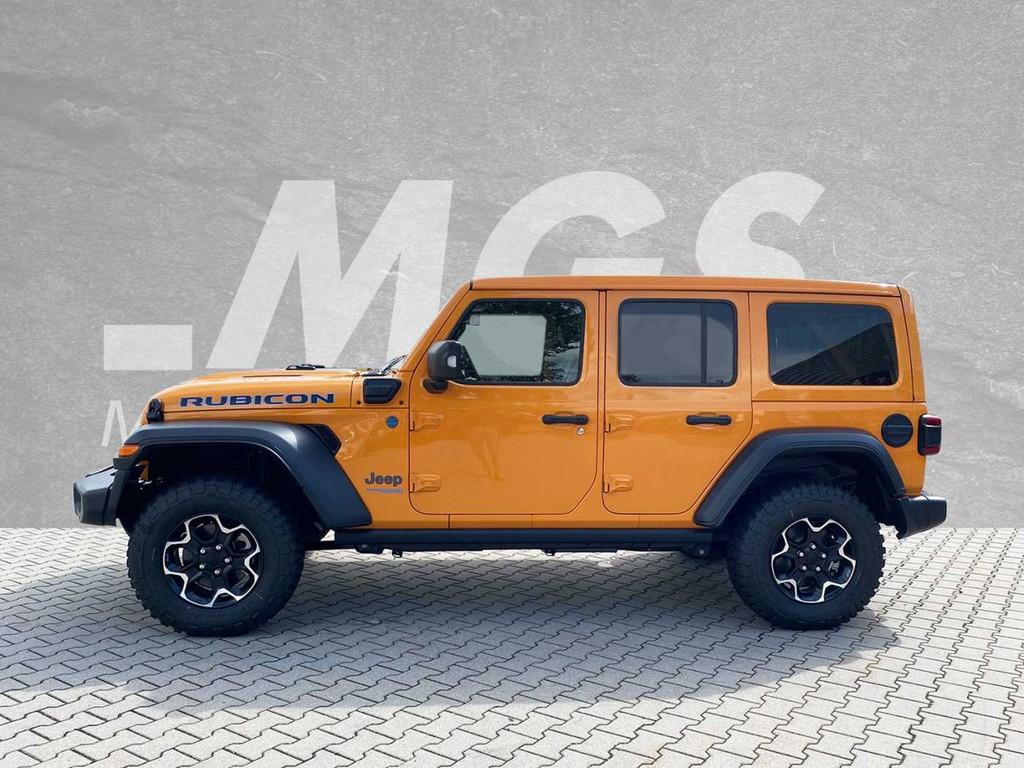 Jeep Wrangler Unlimited 4xe #HYBRID #RUBICON #SKY