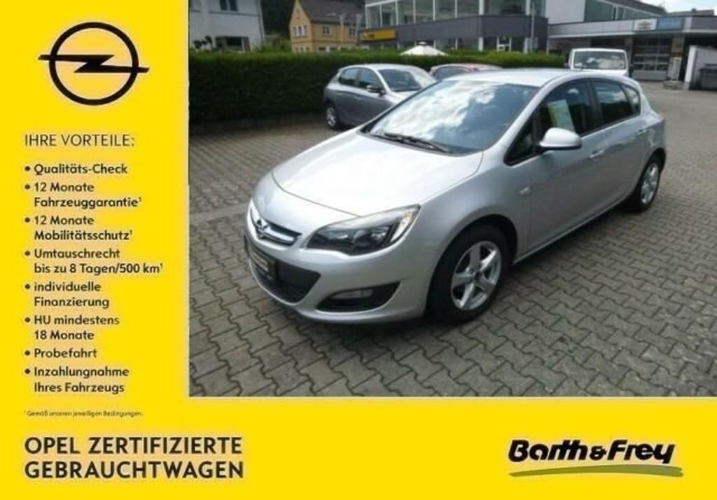 Opel Astra 1.4 J Turbo Edition