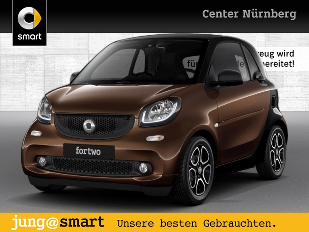 smart ForTwo coupé 66kW prime