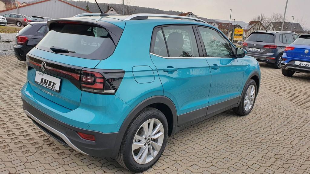Volkswagen T-Cross 1.0 TSI Style OPF (EURO 6d)
