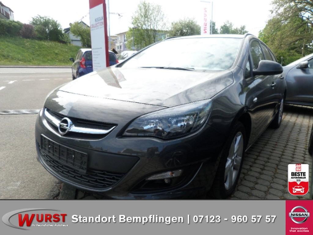 Opel Astra J Style S S Design-Paket vorne und hinten
