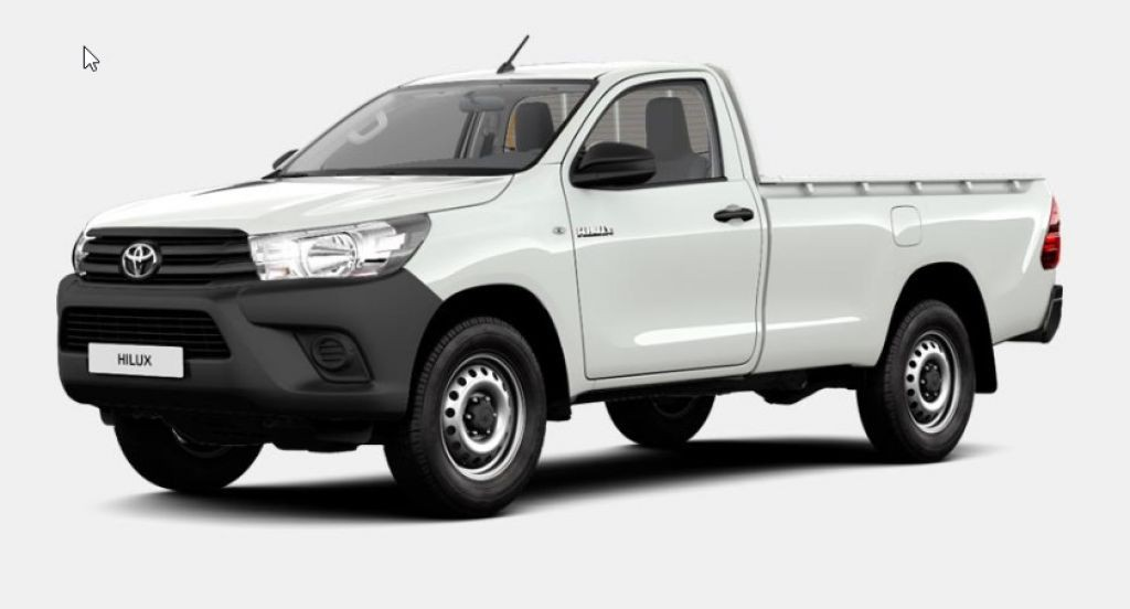 Toyota Hilux 4x2 Single Cab Duty