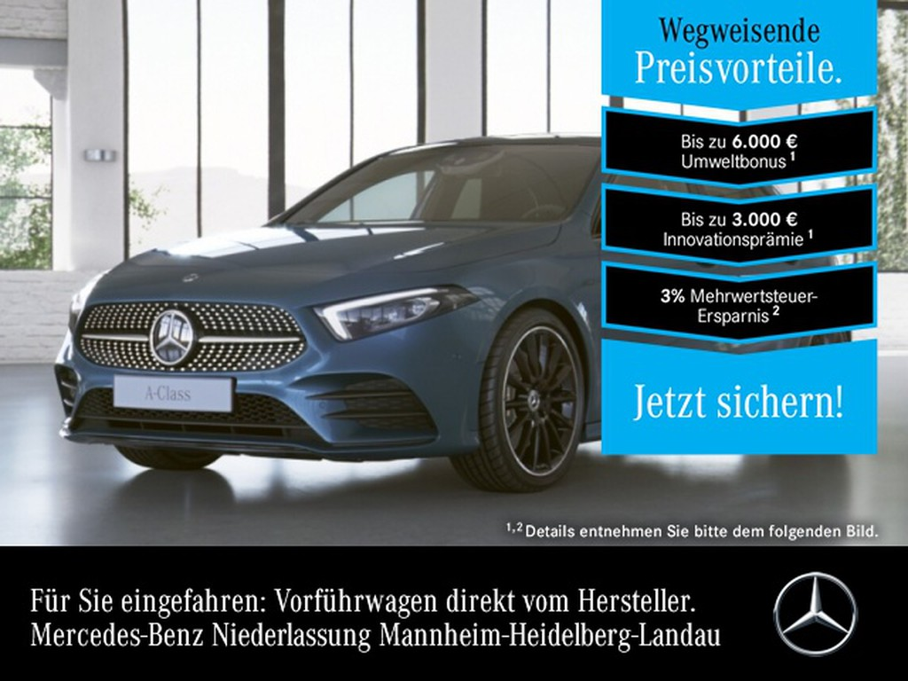 Mercedes-Benz A 250 e AMG Burmester Premium