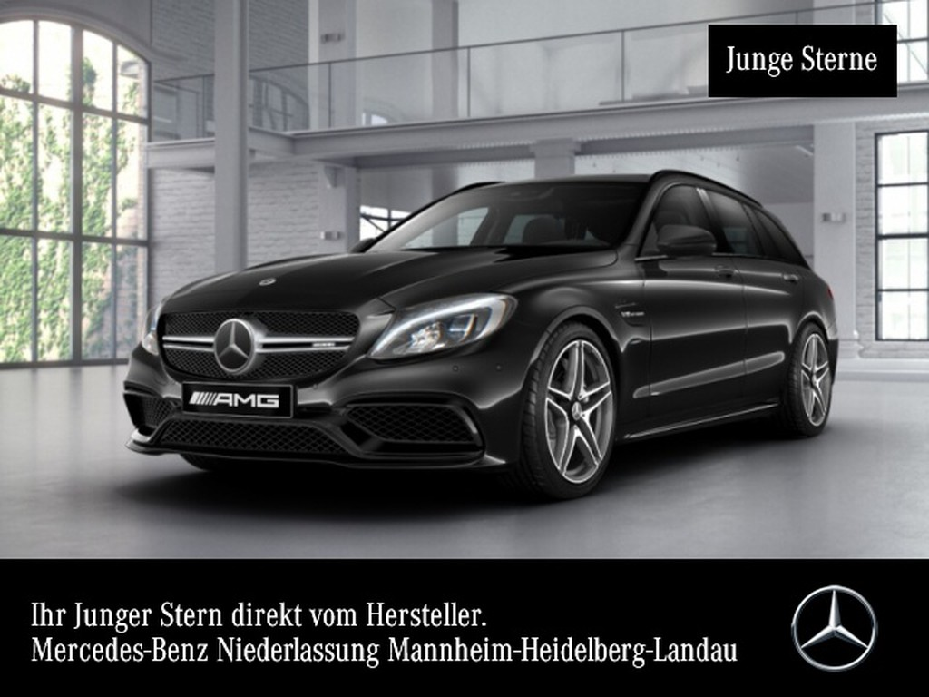Mercedes-Benz C 63 AMG T Perf-Abgas Burmester Night