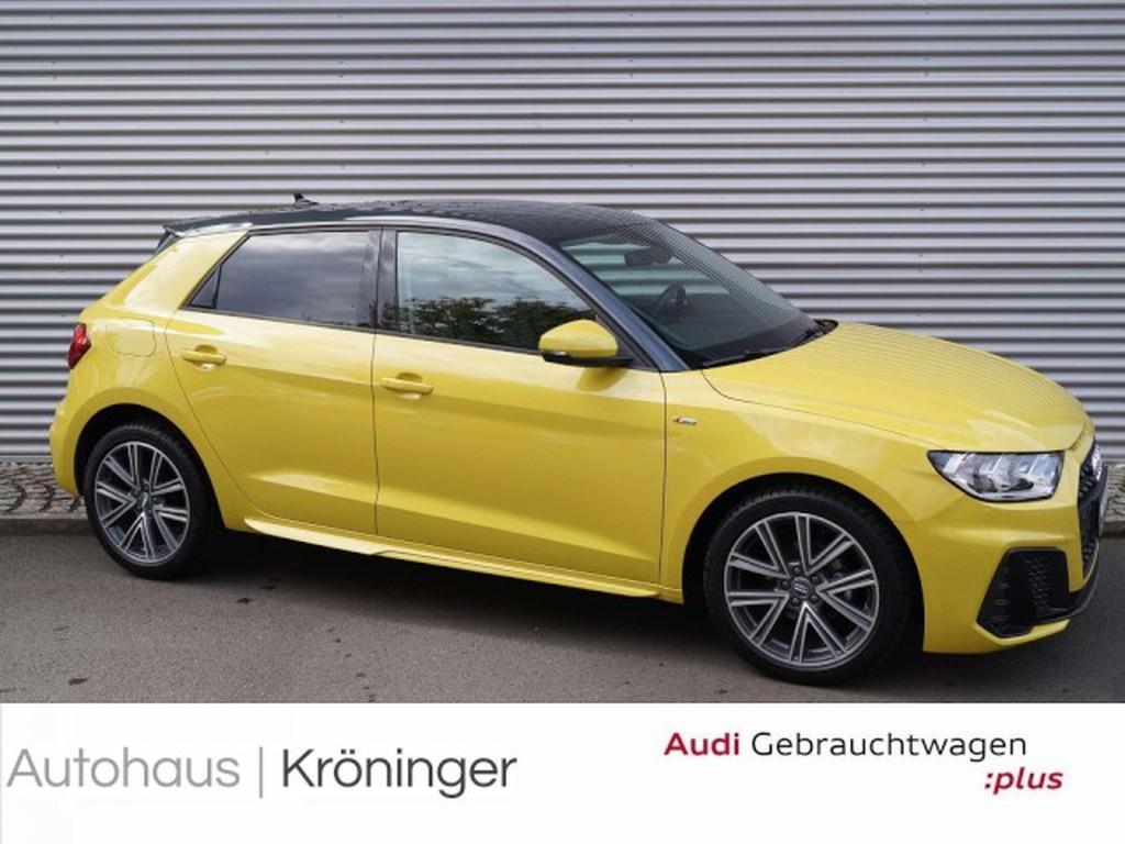 Audi A1 Sportback S line 25 TFSI smart phone interfac