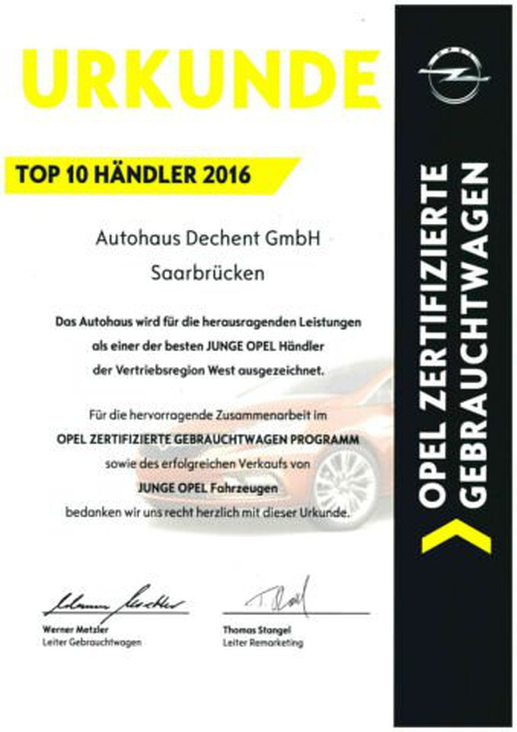 """Opel Astra 1.4 120Jahre T 17"""" PP v h"""