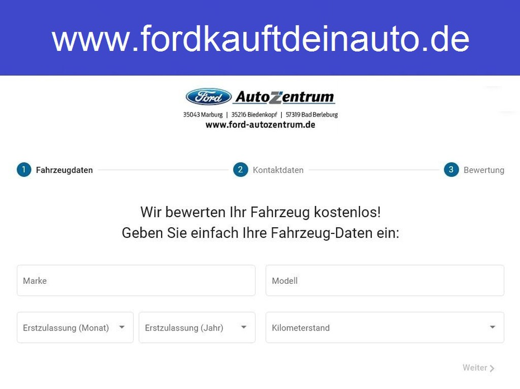 Ford C-Max 1.0 EcoBoost Trend Sicht-P