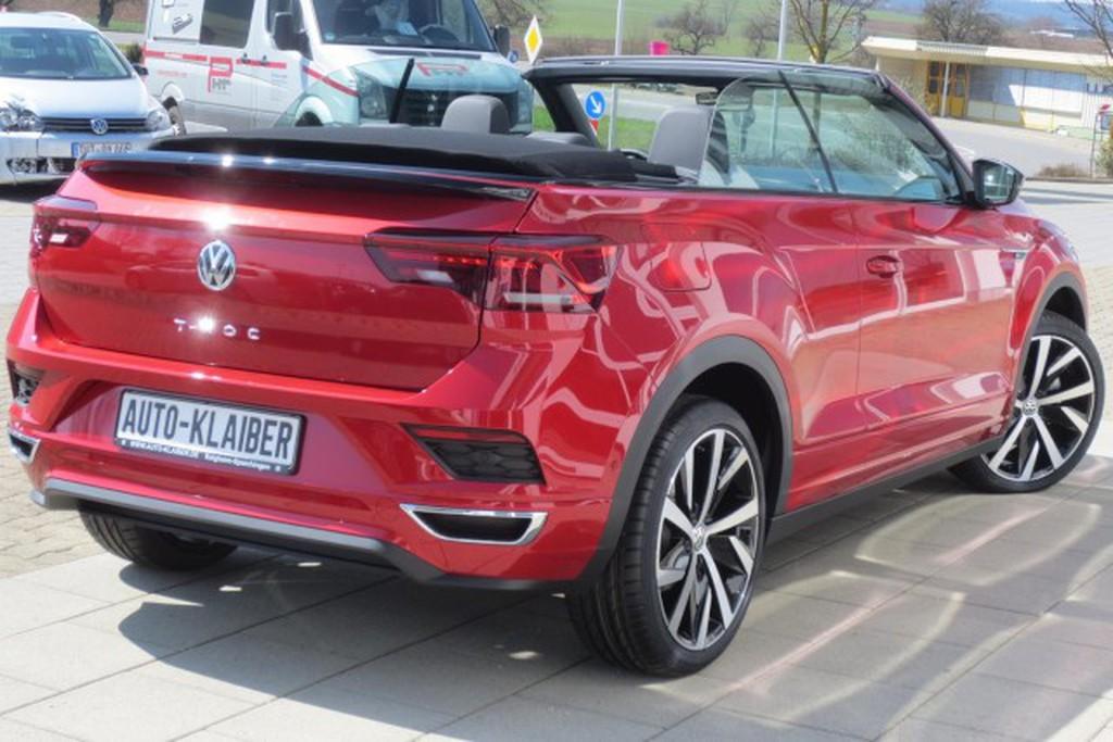 Volkswagen T-Roc 1.5 TSI Cabriolet R-Line DSGNAV Fahrerassistenz