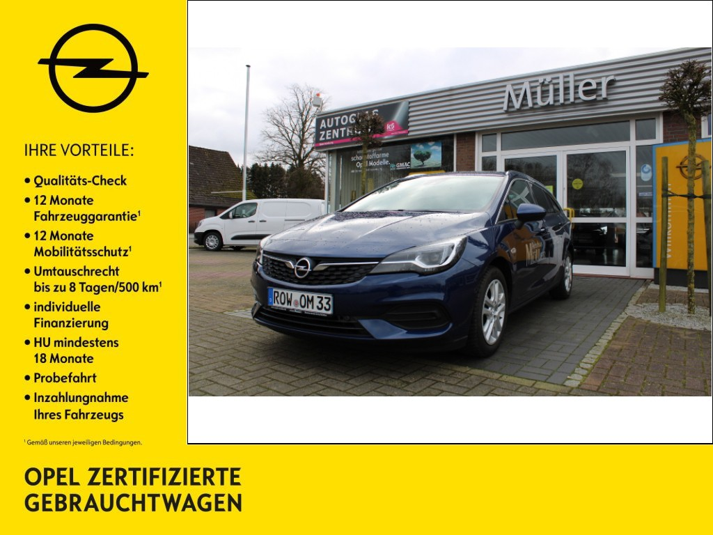 Opel Astra 1.5 D SpTo Automatik Business Edition