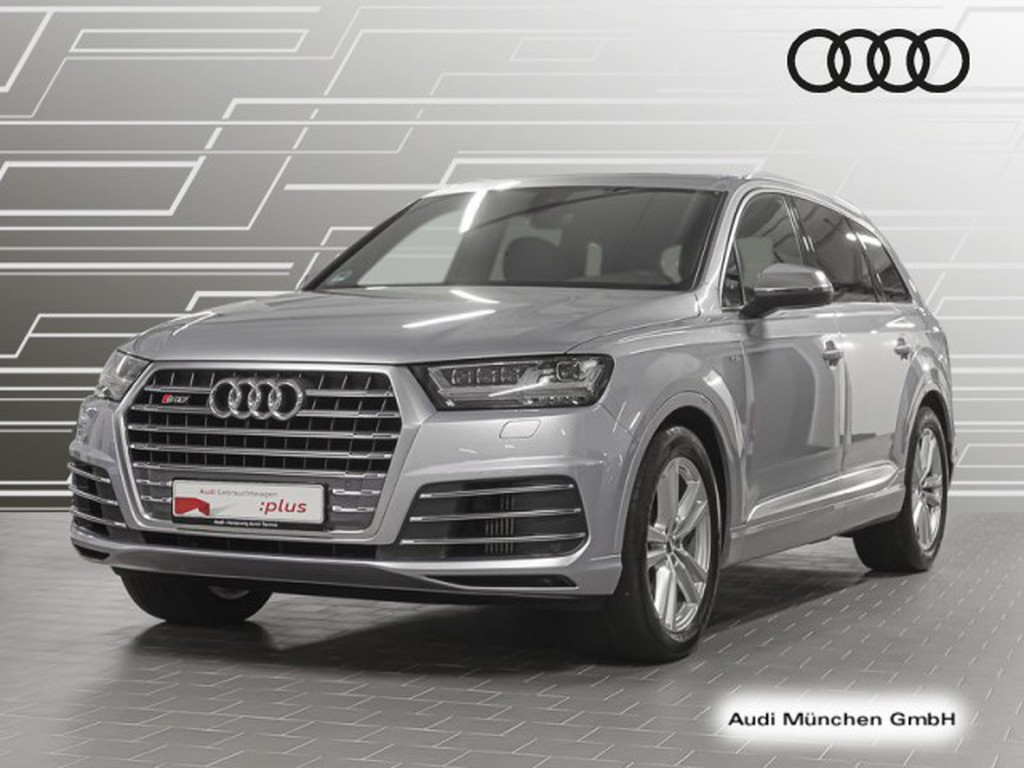 Audi SQ7 4.0 TDI qu hinten
