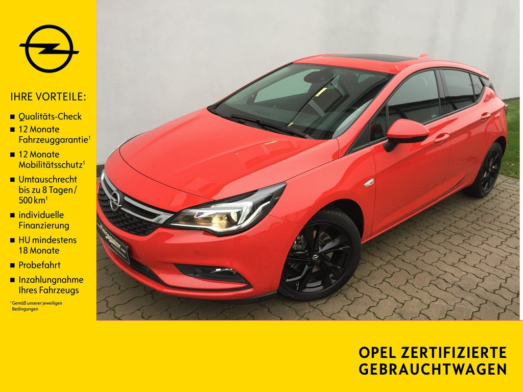 Opel Astra 1.6 K Turbo ON Automatik