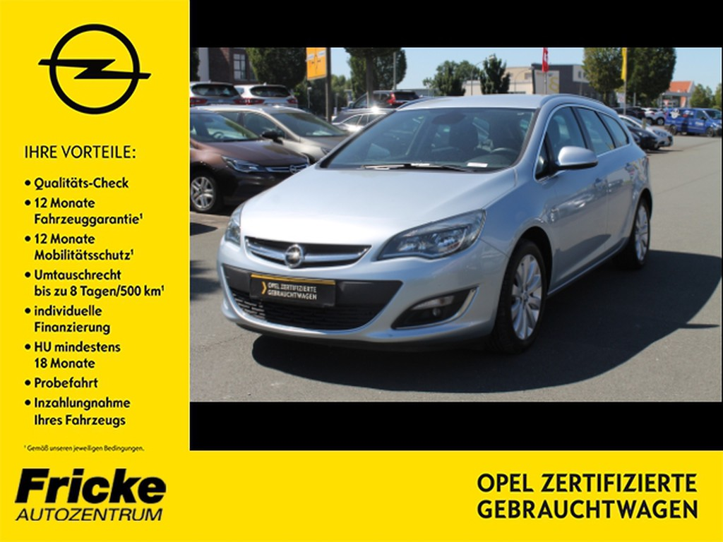Opel Astra ST Exklusiv