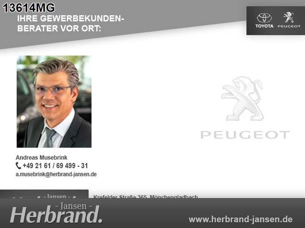 Peugeot Partner Kastenwagen L1 Premium 100 M