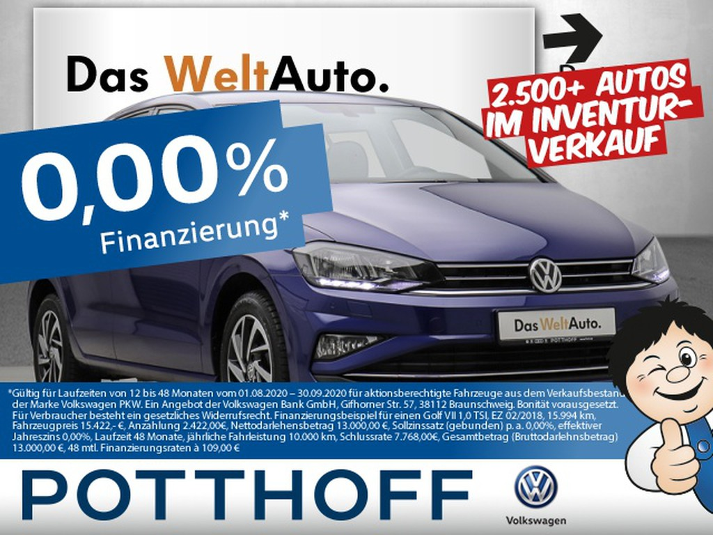 Volkswagen Golf Sportsvan 1.0 TSI JOIN Lic