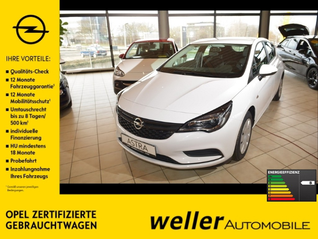 Opel Astra 1.0 K Selection Euro6D