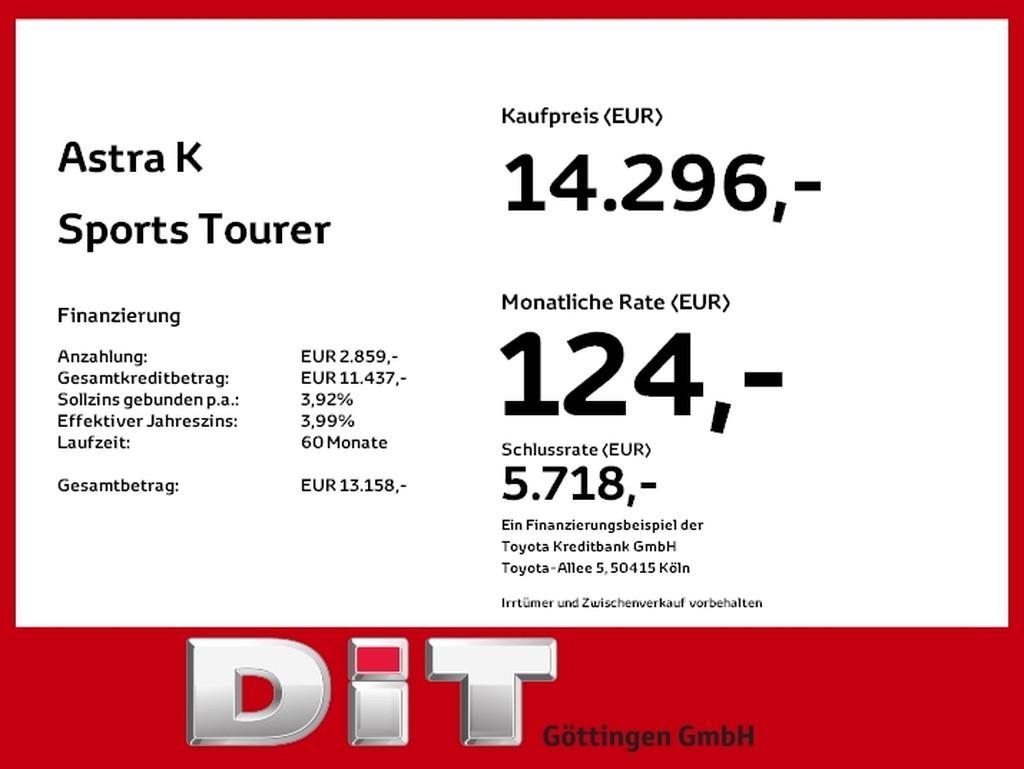 Opel Astra 1.4 K Sports Tourer Turbo INNOVATION