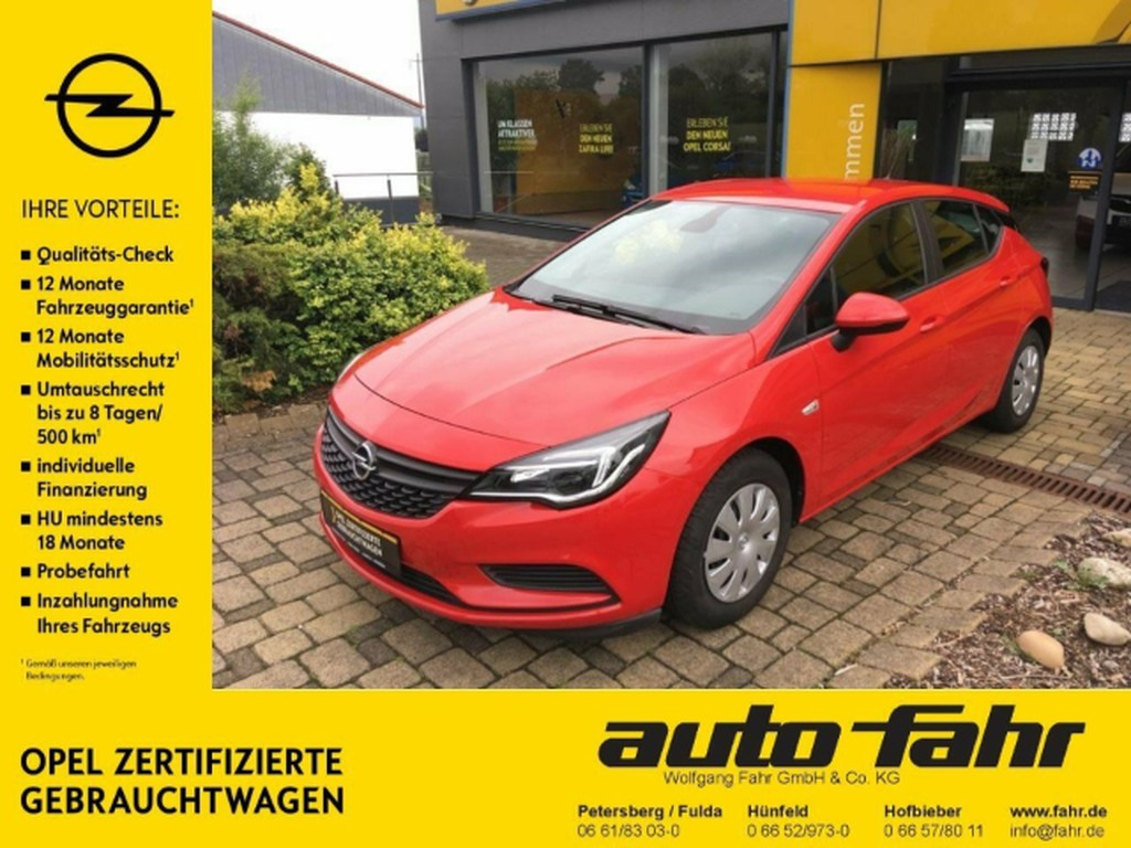 Opel Astra K Selection