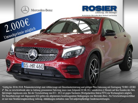 Mercedes GLC 43 AMG Coupe Night Airm