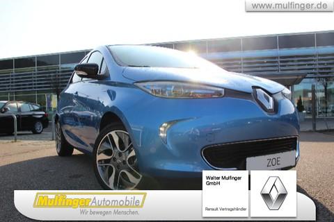 Renault ZOE Z E 40 R110 LIMITED Bat miete Bluet