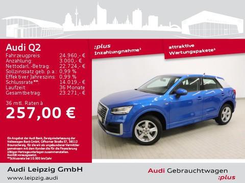 Audi Q2 30 TDI sport S-line