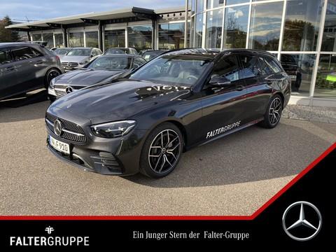 Mercedes-Benz E 220 d T AMG High-MBUX DISTRO Night °