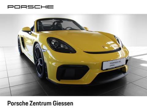 Porsche Boxster 718 Spyder Connect ohne Zulassung
