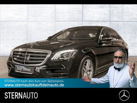 Mercedes S 450 L AMG Fond Enter 4 x Sitzklima
