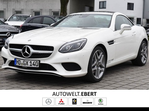 Mercedes SLC 200 Spurpaket