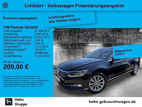 Volkswagen Passat Variant 2.0 TDI Highl Lane