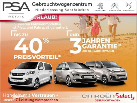 Citroën SpaceTourer 2.0 M Business    