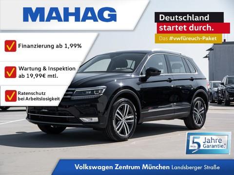 Volkswagen Tiguan 2.0 TDI Highline - Display 3 Zonen Tiguan 2 0 HLBMT4M 110TDID7A