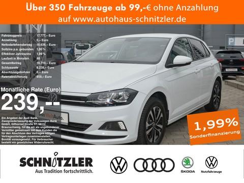 Volkswagen Polo 1.0 TSI Comfortline 239 mtl Rate