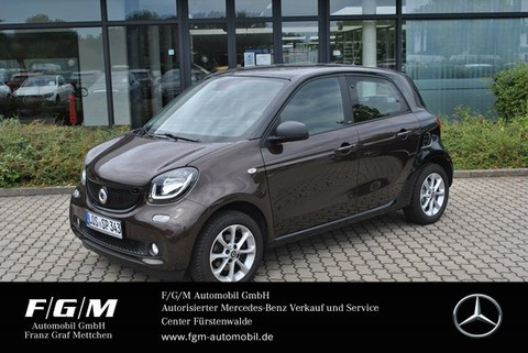 smart ForFour passion Cool&A Komfort-P PanoDach