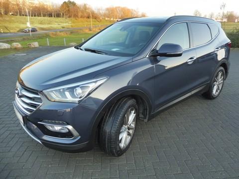 Hyundai Santa Fe 2.2 Premium blue