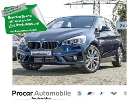 BMW 220 i Active Tourer Sport Line Leuchten