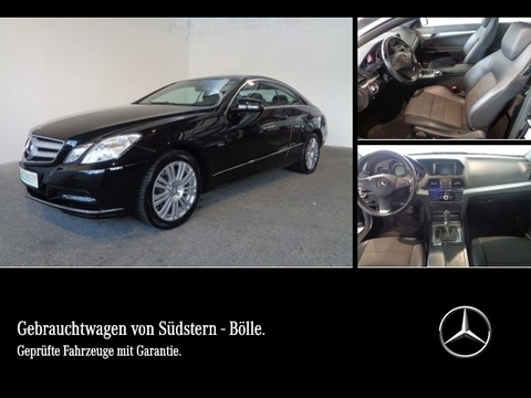 Mercedes E 350 BE Coupé elHeckrollo