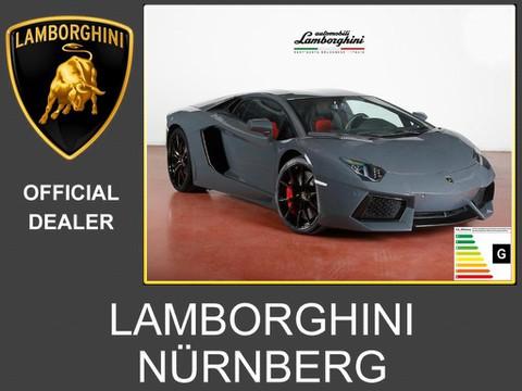 Lamborghini Aventador 700-4 Lifting Ad Personam rot