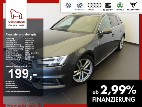 Audi A4 2.0 TDI Avant SLINE BUSINESS S