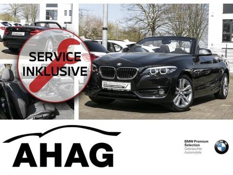 BMW 218 i Cabrio Sport Line 339 EUR monatl