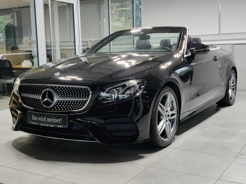 Mercedes-Benz E 350 Cabrio AMG Line|||AMG
