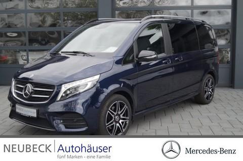 Mercedes V 220 d EDITION Kompakt AMG Line Rückkam