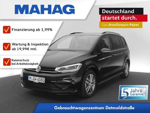 Volkswagen Touran 2.0 TDI R line Ext BlackStyle Highline AppConnect FrontAssist LightAssist 17Zoll
