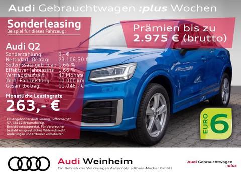 Audi Q2 30 TFSI sport S-Line