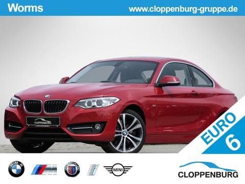 BMW 228 i Coupé Sport Line