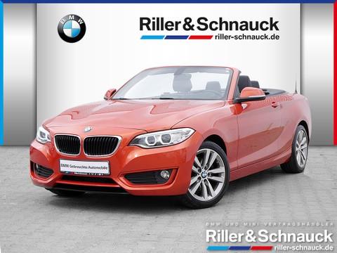 BMW 220 iA Cabrio Innovation