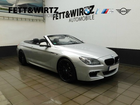 BMW 650 i Cabrio Komfortsitze 20
