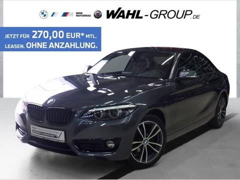 BMW 218 d Coupé Sport Line Business